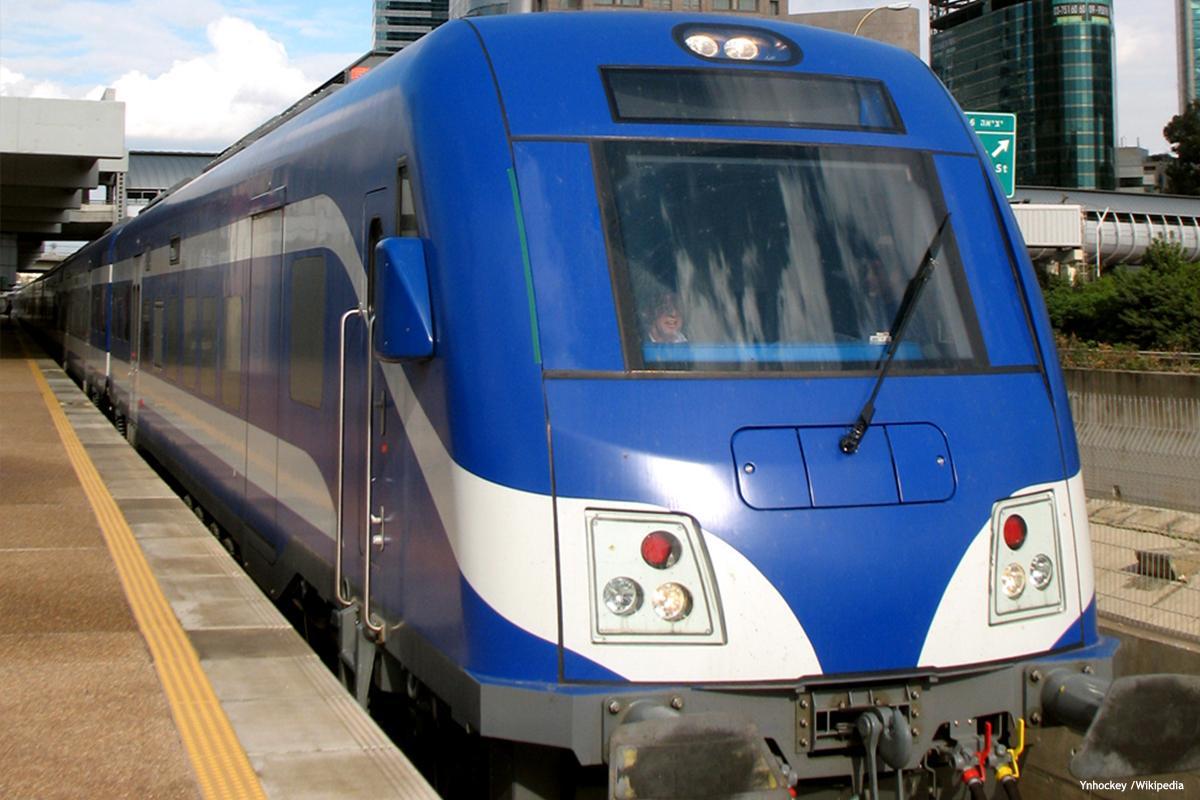 Israelis-railway-system