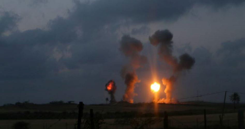 warplanes attack