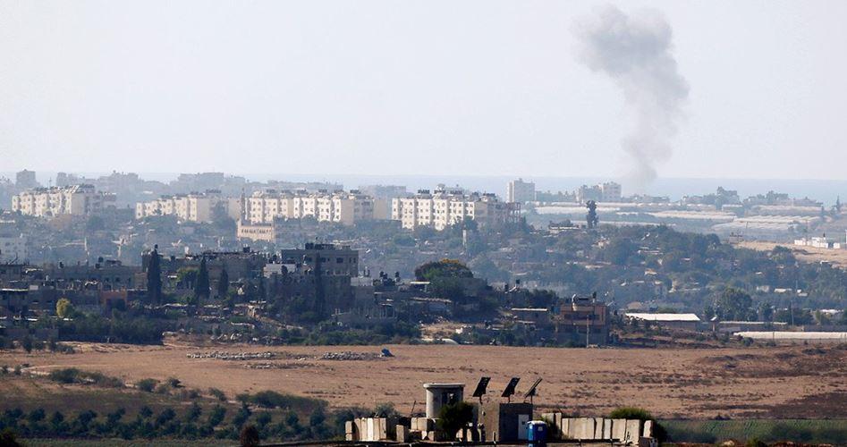 Airstrike east Gaza