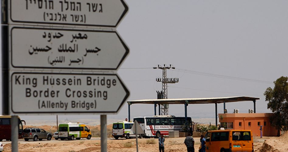 Allenby crossing Shin Bet
