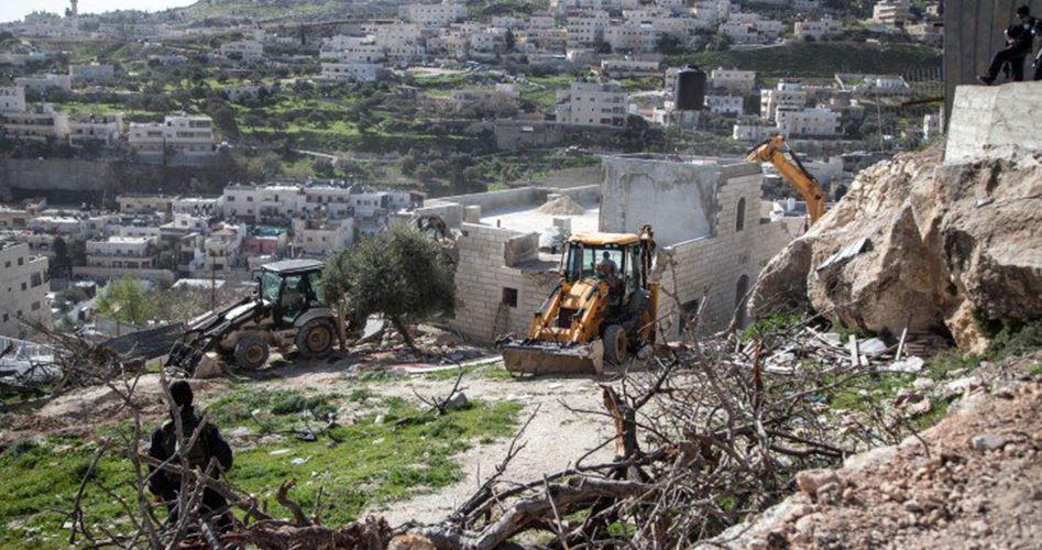 Demolition al-Isawiya