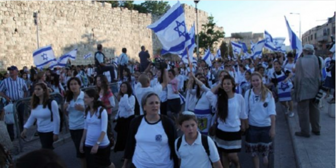 Illegal march settlers