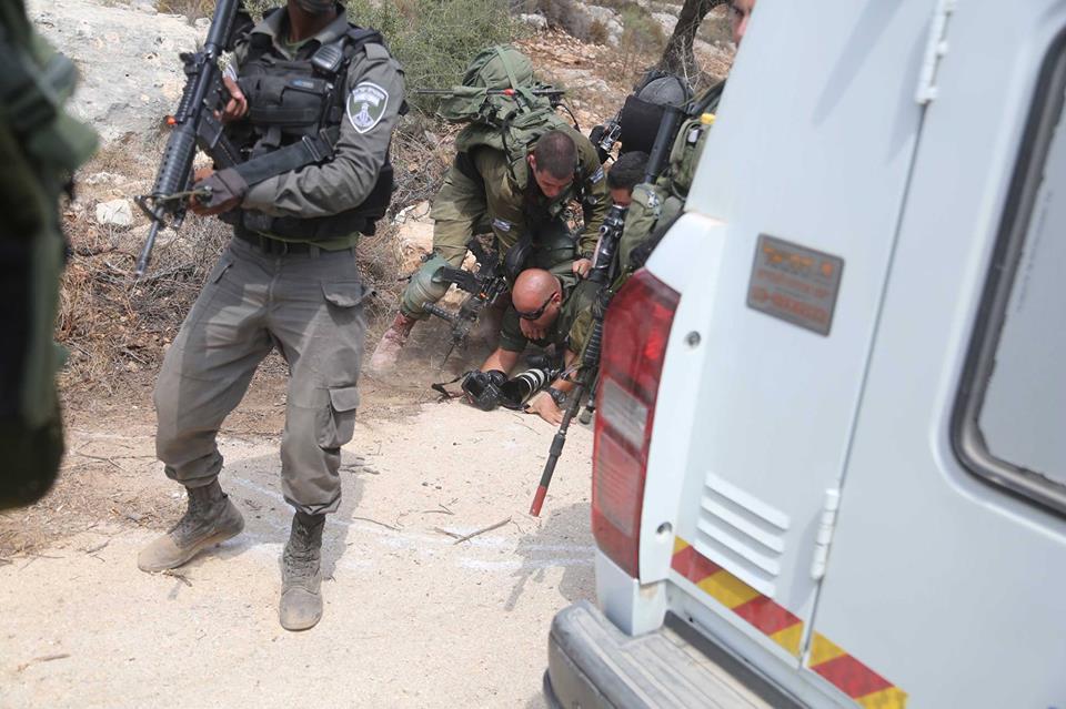 Steal Palestinian land Ramallah1