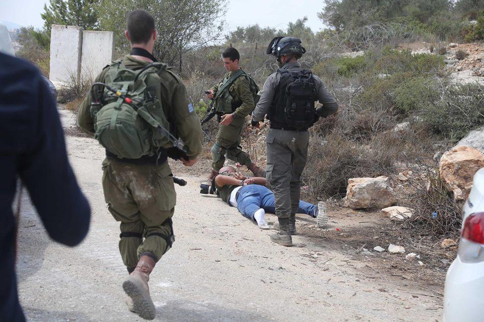 Steal Palestinian land Ramallah2