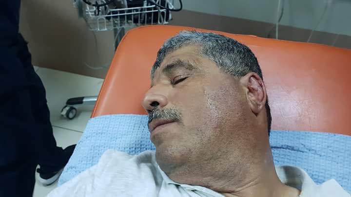 Walid Assaf injured1