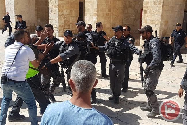 Tensions Al Aqsa