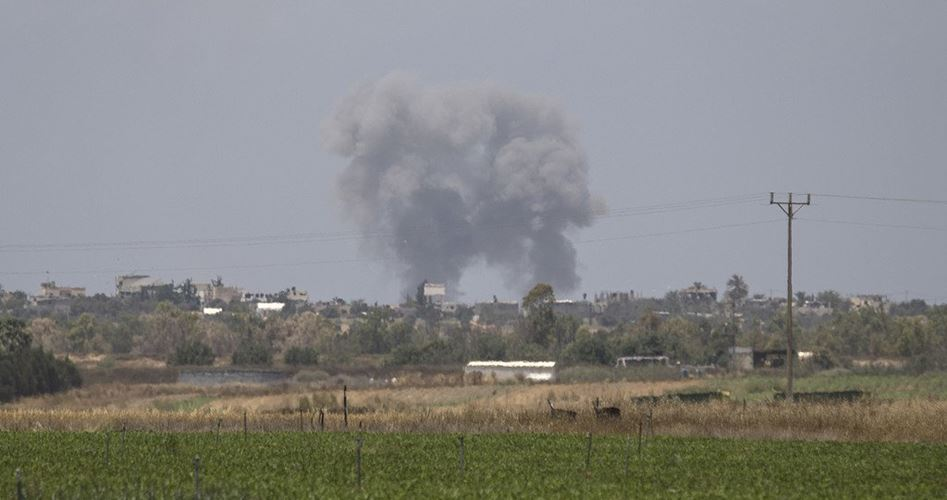 Airstrikes Rafah Gaza