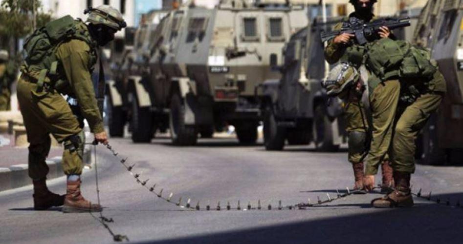 Clashes Azzun IOF