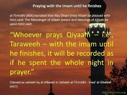 Taraweeh gebed